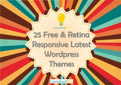 25 Free & Retina Responsive Latest Wordpress Themes - candent seo