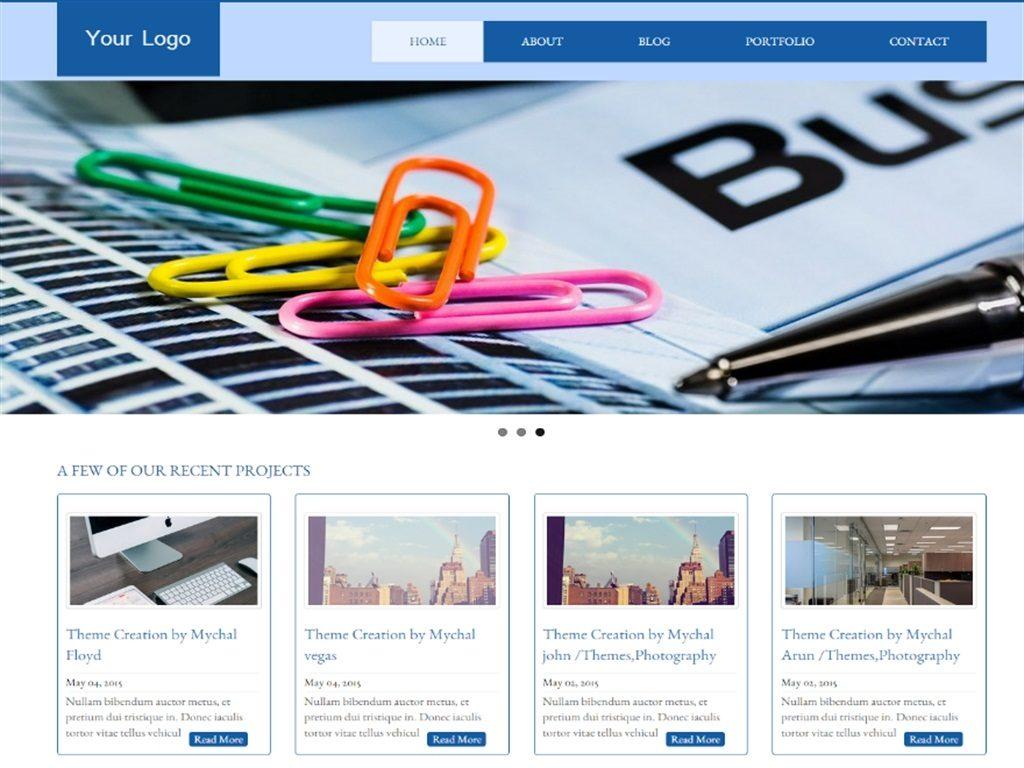 25 Free & Retina Responsive Latest WordPress Themes