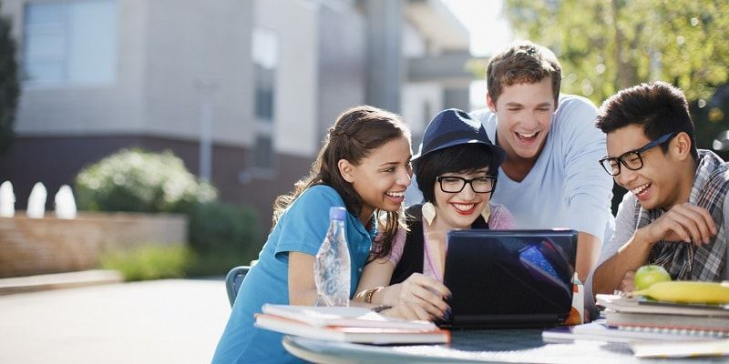 College students on Social Media Platform