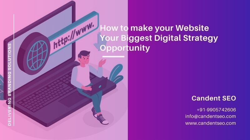 How to make your Website Your Biggest Digital Strategy Opportunity