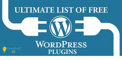 Ultimate List of Free WordPress Plugins new